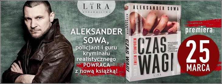 Aleksander Sowa - autor powieści, książek technicznych  i poradników.  Jego publikacje wydawane są w tradycyjnej formie książkowej lub jako e-booki.  Jeden z pierwszych autorów w Polsce, który wykorzystał do samopublikowania serwisy KDP  (Kindle Direct Publishing) oraz Smashwords i Lulu. Jego debiutancka powieść jest pierwszą polską powieścią wydaną na papierze, a następnie sprzedawaną w Amazon jako e-book.