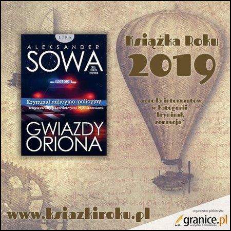 Gwiazdy Oriona to najlepszy kryminał roku 2019 portalu Granice.pl - wybór internautów.